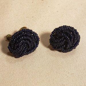 Vintage seed bead earrings